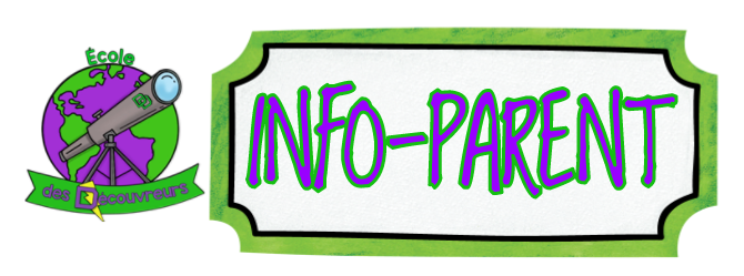 Info-parent: avril 2019